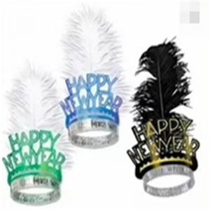Tiaras Feather Happy New Years Eve Party Kits